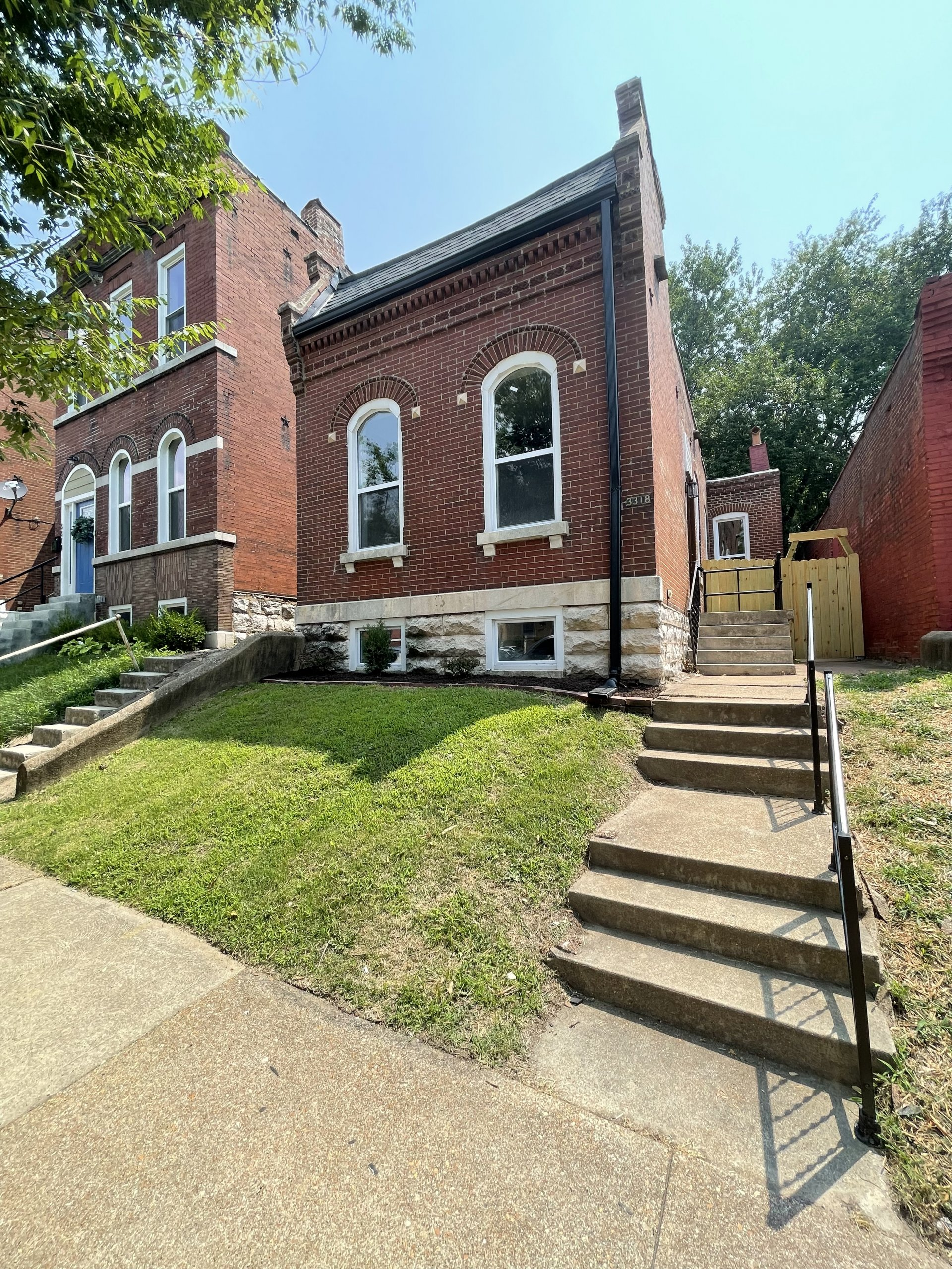 Brick home in St. Louis for sale